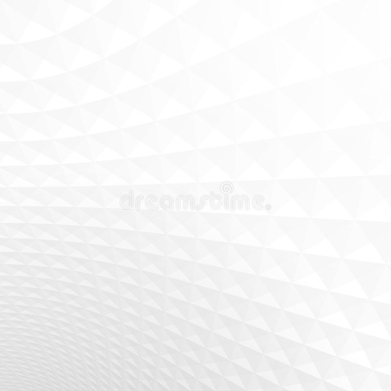 Αφηρημένη ελαφριάς άσπρης και γκρίζας σύσταση υποβάθρου προοπτικής, διανυσματική απεικόνιση