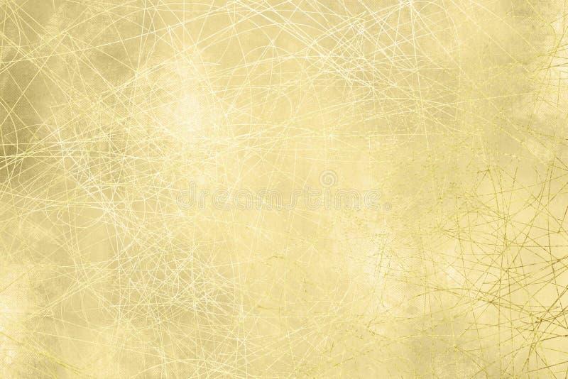 Χρυσή σύσταση υποβάθρου - grunge σχέδιο διανυσματική απεικόνιση