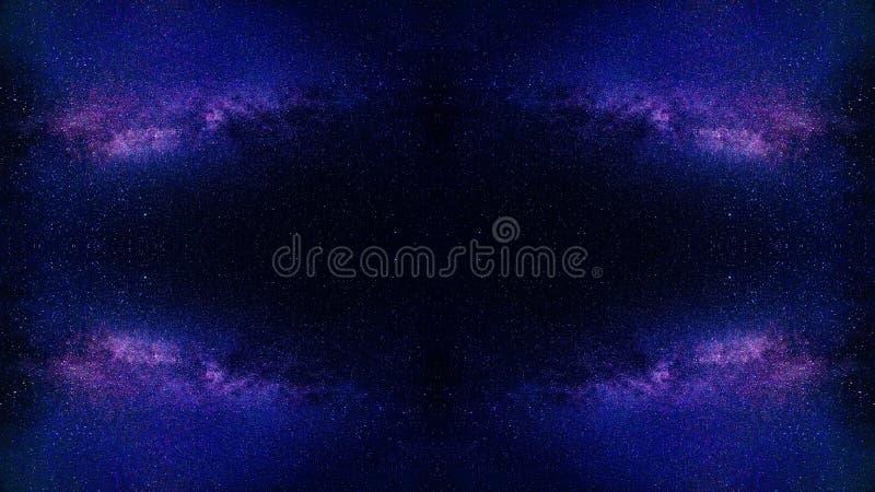 Αφηρημένη ζωγραφική τέχνης αστεριών σύμπαντος στοκ εικόνα με δικαίωμα ελεύθερης χρήσης