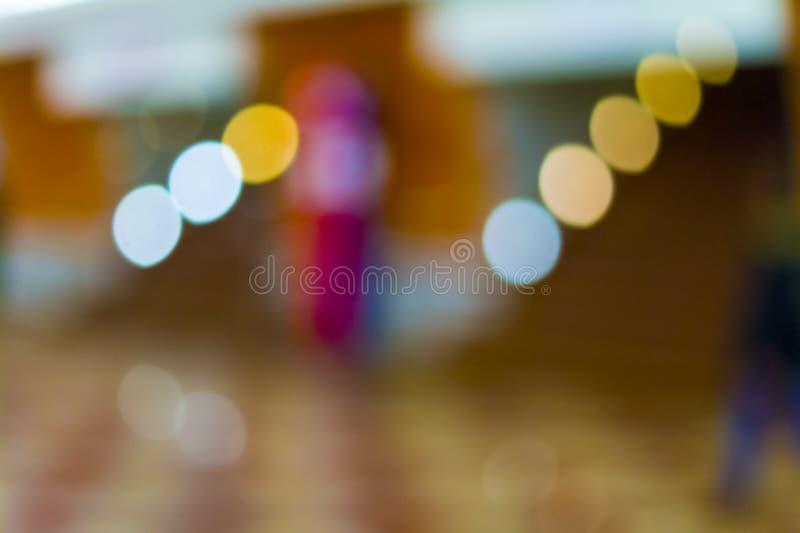 Αφηρημένη θαμπάδα για μια εορταστική πρόσκληση στο άνοιγμα πολυτελείς θέσεις στοκ φωτογραφία με δικαίωμα ελεύθερης χρήσης