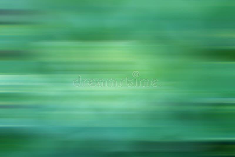 Αφηρημένη θαμπάδα του πράσινου χρώματος για το υπόβαθρο κινήσεων, πράσινη φύση bokeh διανυσματική απεικόνιση