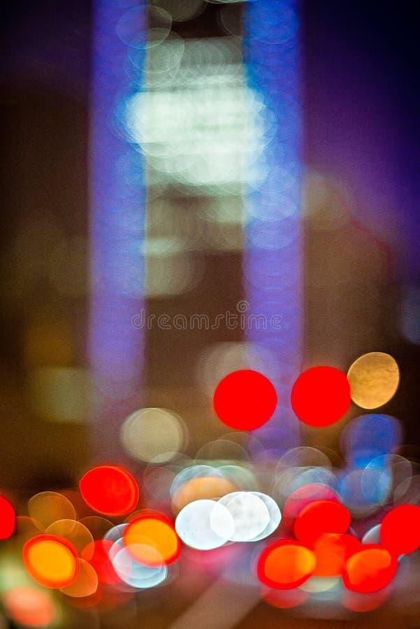 Αφηρημένη θαμπάδα μιας σύγχρονης πόλης το πρωί στοκ εικόνα με δικαίωμα ελεύθερης χρήσης