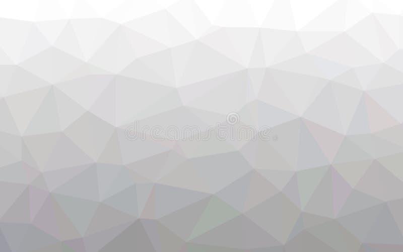 Αφηρημένη θερμή άσπρη ταπετσαρία πολυγώνων στοκ εικόνες