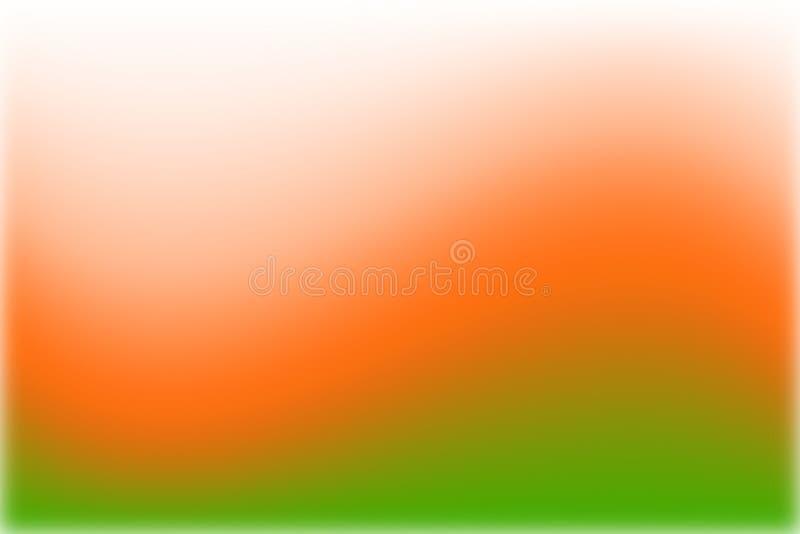 Αφηρημένη θερμή πορτοκαλιά κίτρινη θαμπάδα κινήσεων υποβάθρου ελεύθερη απεικόνιση δικαιώματος