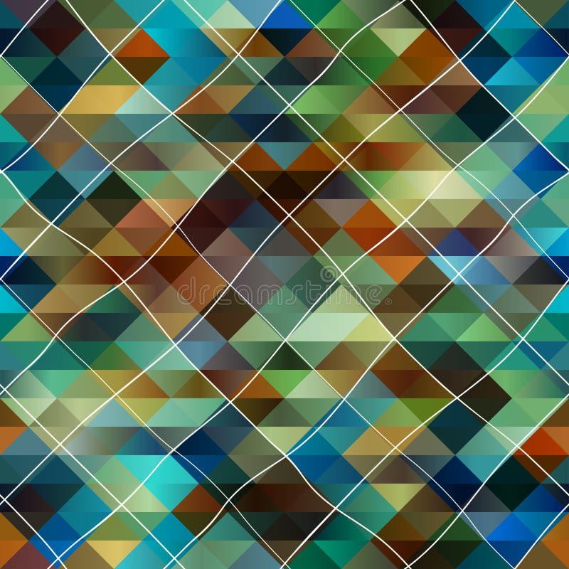 αφηρημένη διαγώνιος ανασ&kappa διανυσματική απεικόνιση