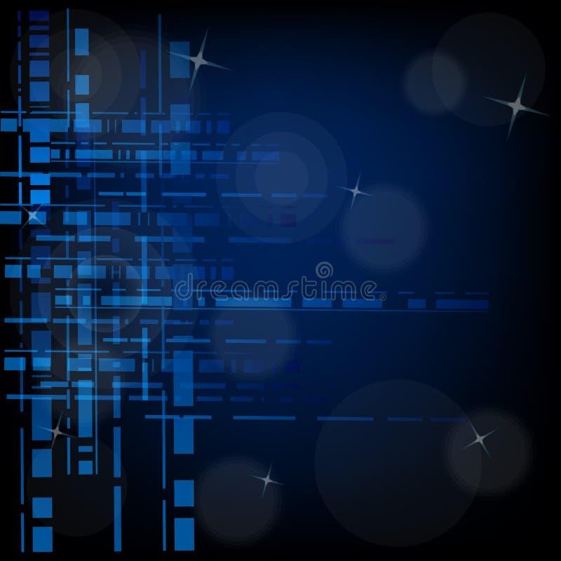 Αφηρημένη διανυσματική απεικόνιση τεχνολογίας υποβάθρου ελεύθερη απεικόνιση δικαιώματος