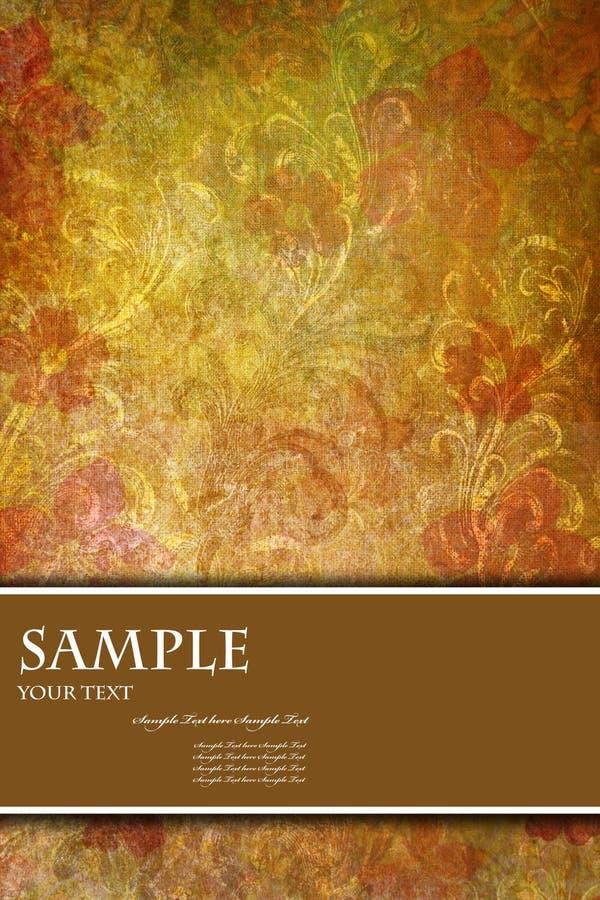 αφηρημένη κάλυψη καρτών βιβ&lam διανυσματική απεικόνιση