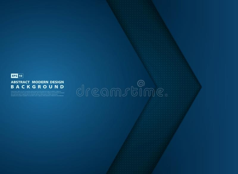 Αφηρημένη κάλυψη σύγχρονου σχεδίου επικάλυψης προτύπων κλίσης μπλε r διανυσματική απεικόνιση
