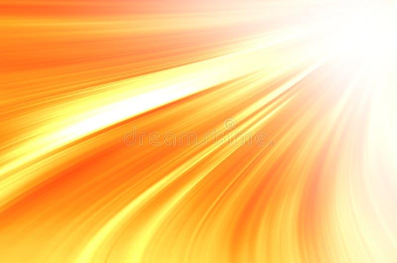 Αφηρημένη κίτρινη ανασκόπηση καμπυλών στοκ φωτογραφία με δικαίωμα ελεύθερης χρήσης