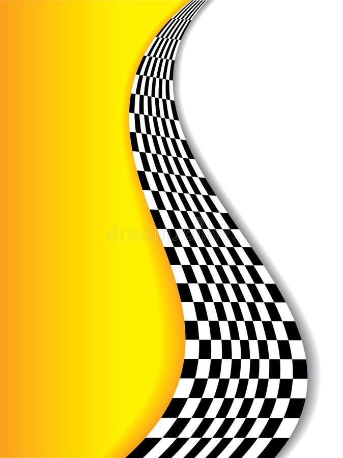 Αφηρημένη κίτρινη ανασκόπηση ελεύθερη απεικόνιση δικαιώματος