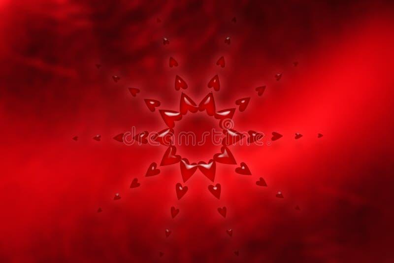 αφηρημένη καρδιά διανυσματική απεικόνιση