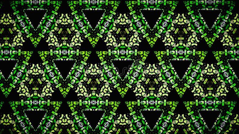 Αφηρημένη κιτρινοπράσινη άσπρη μαύρη ταπετσαρία χρώματος στοκ φωτογραφία με δικαίωμα ελεύθερης χρήσης