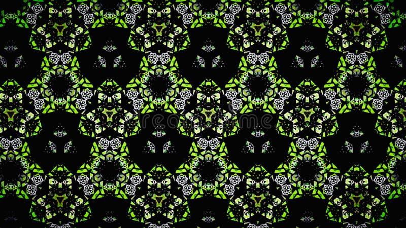 Αφηρημένη κιτρινοπράσινη άσπρη μαύρη ταπετσαρία χρώματος στοκ φωτογραφία