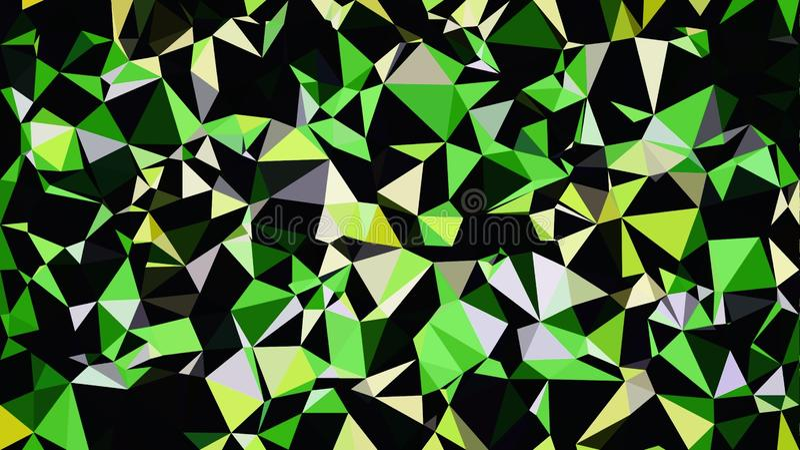 Αφηρημένη κιτρινοπράσινη άσπρη μαύρη ταπετσαρία χρώματος στοκ εικόνα με δικαίωμα ελεύθερης χρήσης