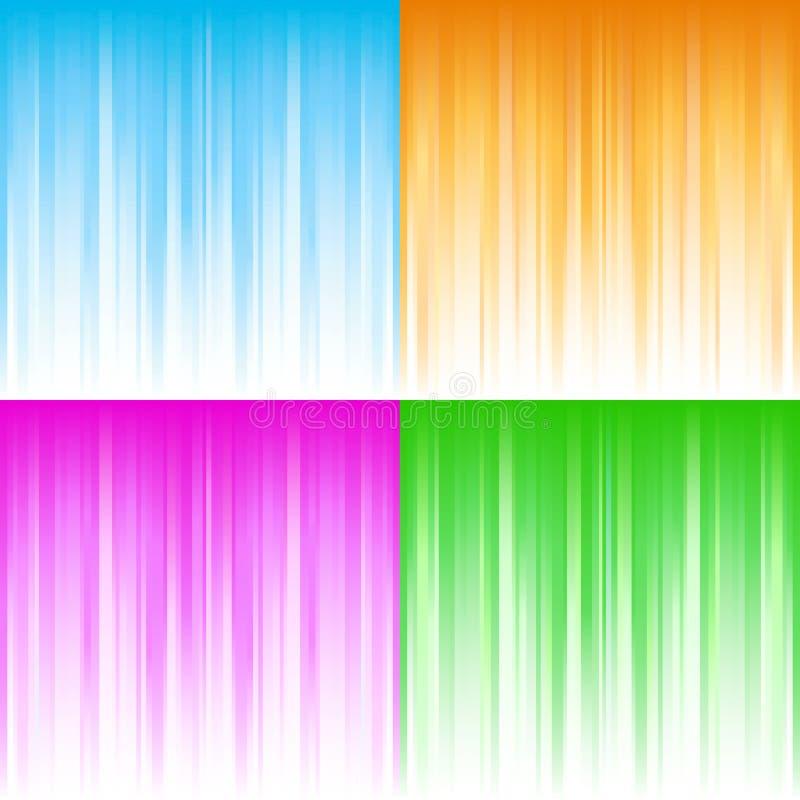 αφηρημένη κλίση ανασκοπήσ&epsil διανυσματική απεικόνιση