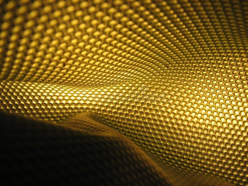 αφηρημένη κυψέλη κίτρινη στοκ εικόνες