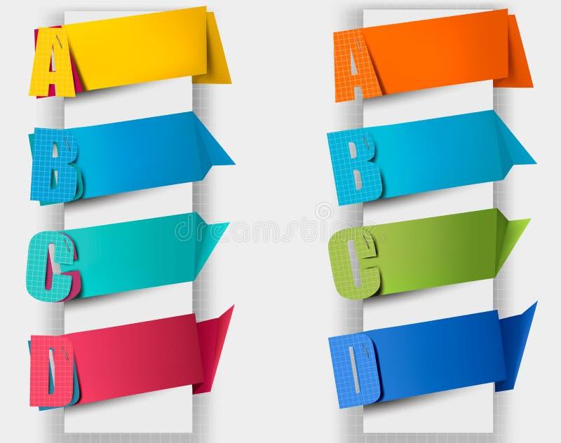 Αφηρημένη λεκτική φυσαλίδα origami με τα απορρίματα. ελεύθερη απεικόνιση δικαιώματος