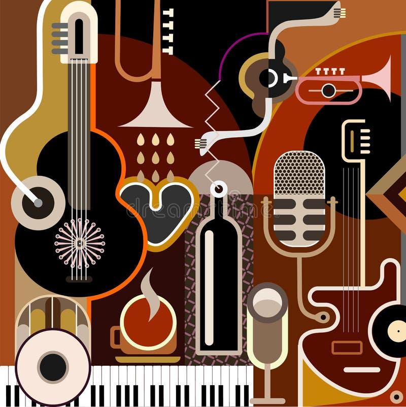 Download αφηρημένη μουσική ανασκόπησης Διανυσματική απεικόνιση - εικονογραφία από εστιατόριο, arroyos: 22792221