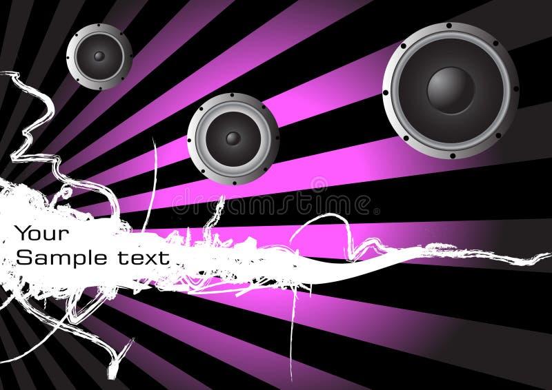 αφηρημένη μουσική ανασκόπη&s ελεύθερη απεικόνιση δικαιώματος