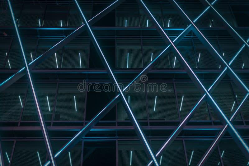 Αφηρημένη μπλε κατασκευή από το Βέλγιο στοκ φωτογραφίες