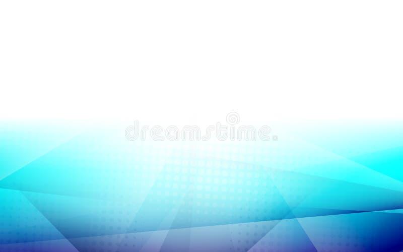 Αφηρημένη μπλε κλίση χρώματος με το ημίτονο υπόβαθρο σύνθεσης μορφών απεικόνιση αποθεμάτων