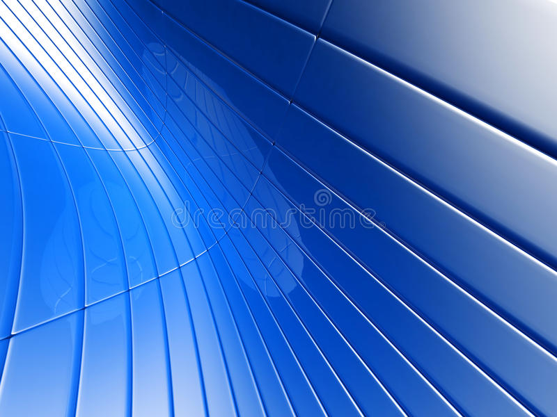 αφηρημένη μπλε πολυτέλει&al απεικόνιση αποθεμάτων