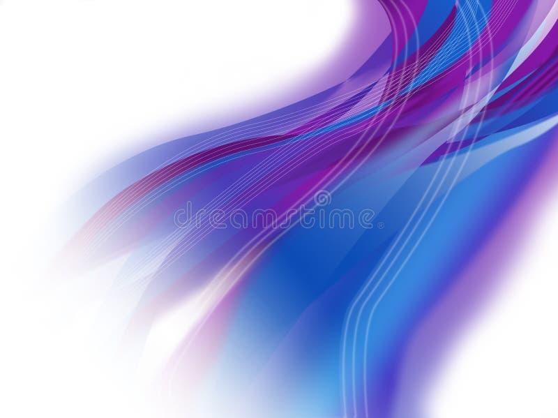 αφηρημένη μπλε πορφύρα ανασ στοκ φωτογραφία