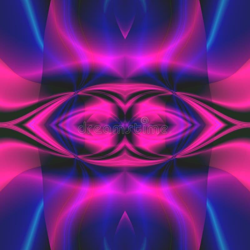 αφηρημένη μπλε πορφύρα backg διανυσματική απεικόνιση