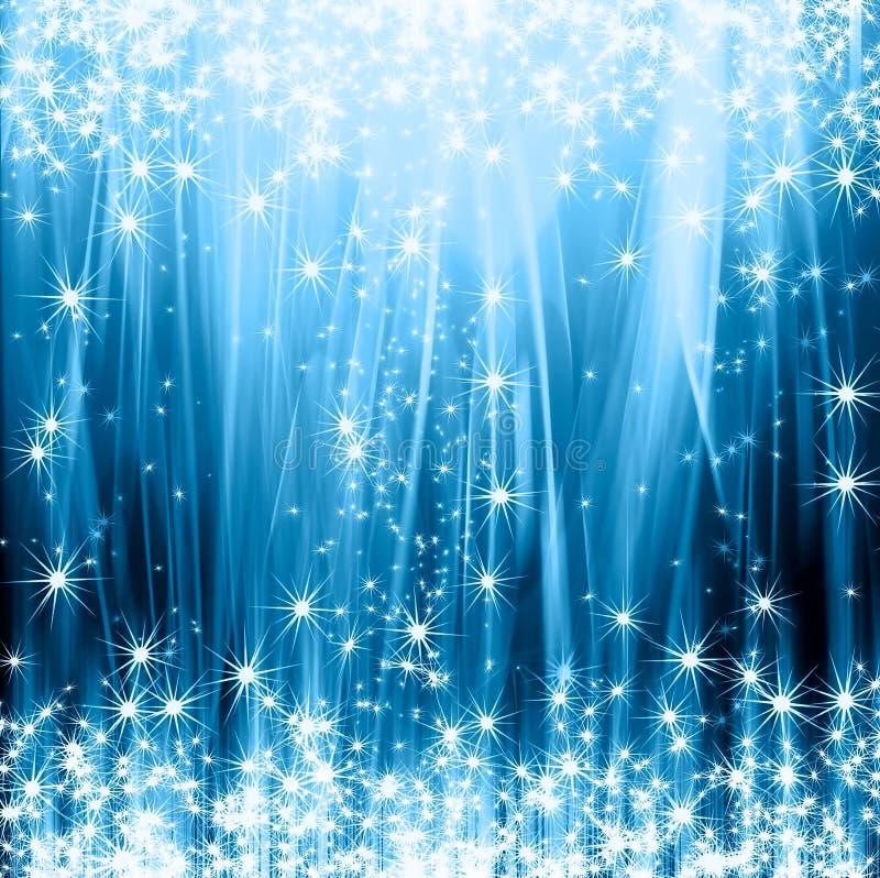 Αφηρημένη μπλε ανασκόπηση διανυσματική απεικόνιση