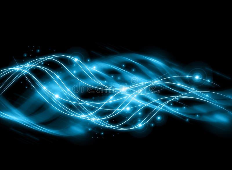 Αφηρημένη μπλε ανασκόπηση στοκ εικόνες με δικαίωμα ελεύθερης χρήσης