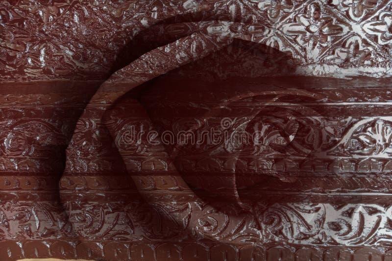 Αφηρημένη ξύλινη κατασκευασμένη ταπετσαρία υποβάθρου στοκ εικόνες με δικαίωμα ελεύθερης χρήσης