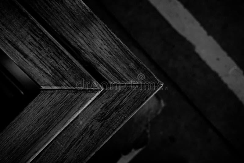 Αφηρημένη ξύλινη γωνία στοκ εικόνα με δικαίωμα ελεύθερης χρήσης