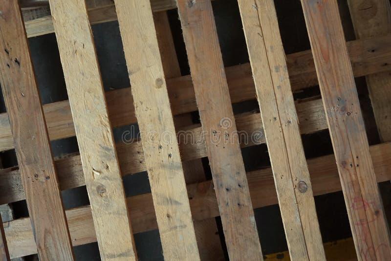 Αφηρημένη ξύλινη παλέτα στοκ εικόνες