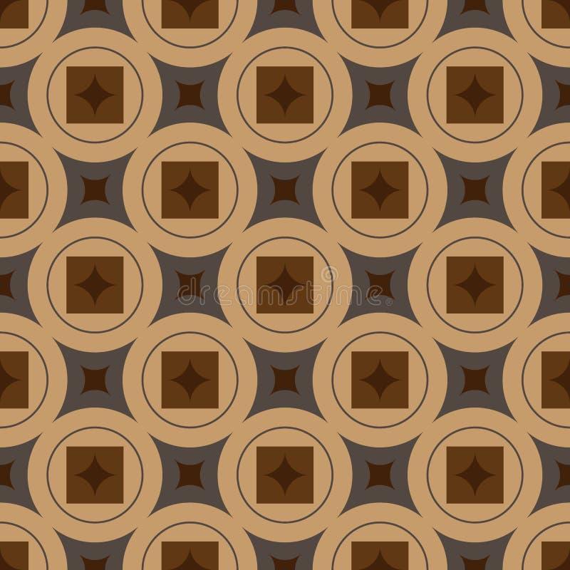 Αφηρημένη παραδοσιακή διακόσμηση υποβάθρου επίσης corel σύρετε το διάνυσμα απεικόνισης πρότυπο άνευ ραφής απεικόνιση αποθεμάτων