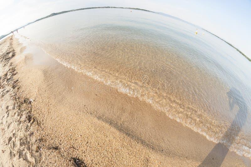 Αφηρημένη παραλία στην Ελλάδα στοκ φωτογραφία με δικαίωμα ελεύθερης χρήσης