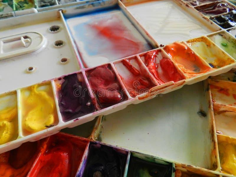 αφηρημένη παλέτα σχεδίου χρώματος ανασκόπησης στοκ εικόνα