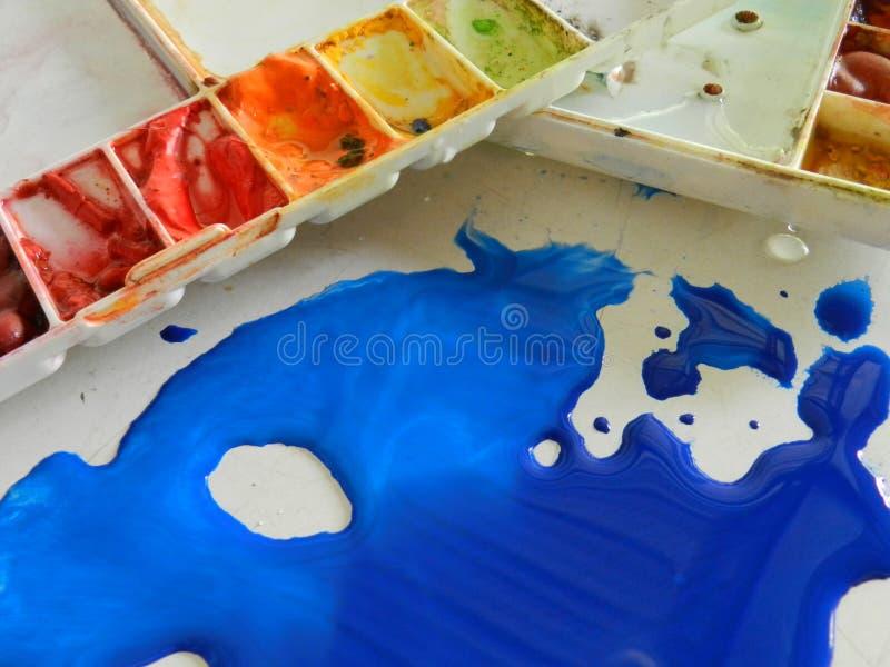 αφηρημένη παλέτα σχεδίου χρώματος ανασκόπησης στοκ φωτογραφία με δικαίωμα ελεύθερης χρήσης
