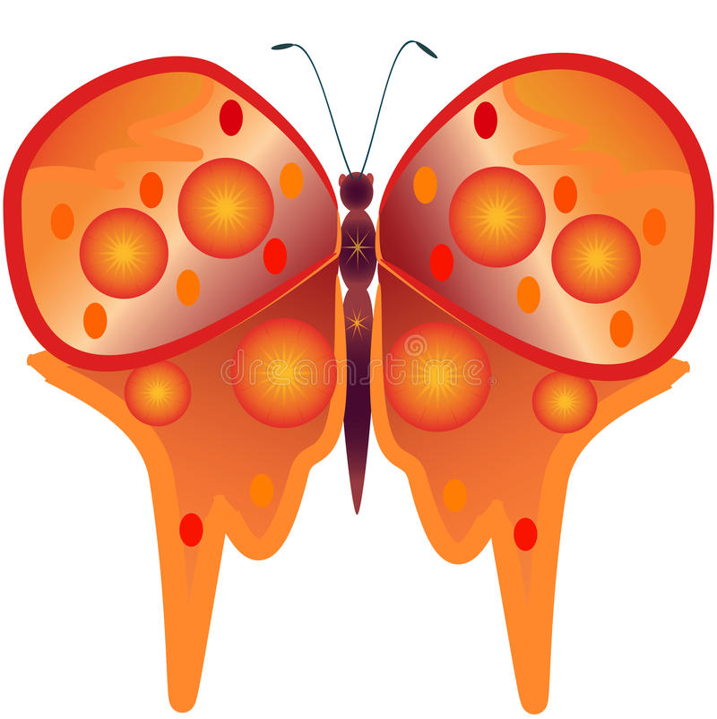 Download αφηρημένη πεταλούδα απεικόνιση αποθεμάτων. εικονογραφία από φαντασία - 22785483