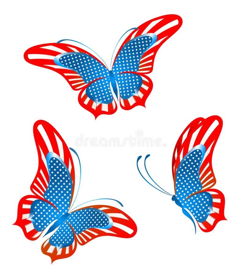 αφηρημένη πεταλούδα απεικόνιση αποθεμάτων