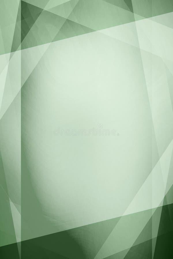 Αφηρημένη πράσινη εκλεκτής ποιότητας ανασκόπηση ελεύθερη απεικόνιση δικαιώματος