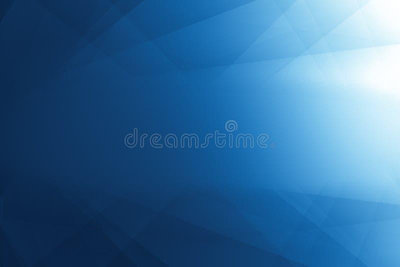Αφηρημένη σκίαση τεχνών γραμμών γεωμετρίας και ελαφρύ blu χρώματος κλίσης απεικόνιση αποθεμάτων