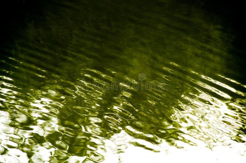 Αφηρημένη σκιά στο νερό στοκ φωτογραφία