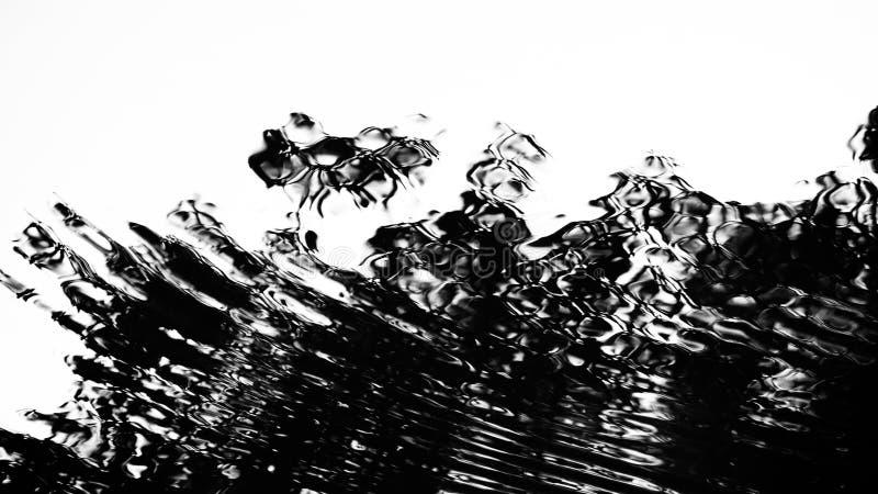Αφηρημένη σκιά στο νερό στοκ φωτογραφία με δικαίωμα ελεύθερης χρήσης