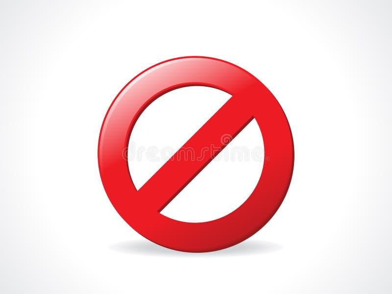 αφηρημένη στιλπνή στάση εικ&omi ελεύθερη απεικόνιση δικαιώματος