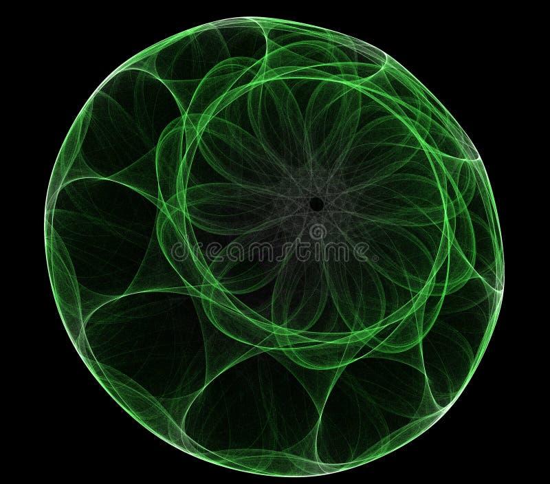 αφηρημένη στρογγυλή μορφή διανυσματική απεικόνιση