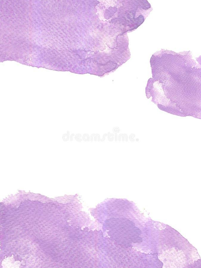 Αφηρημένη συρμένη χέρι υγρή σύσταση παφλασμών watercolor ζωηρόχρωμη backg ελεύθερη απεικόνιση δικαιώματος
