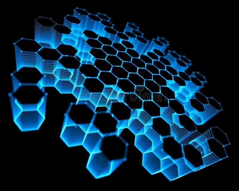 Αφηρημένη σύνδεση τεχνολογίας υποβάθρου στοκ φωτογραφία με δικαίωμα ελεύθερης χρήσης