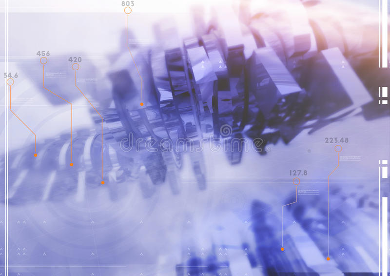 αφηρημένη σύσταση γραφικής παράστασης ανασκόπησης παραγμένη υπολογιστής στοκ εικόνα