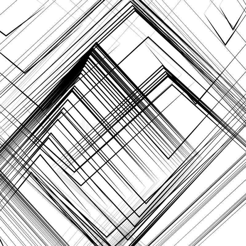 Αφηρημένη τέχνη στη χρήση ως γεωμετρικά σχέδια, υπόβαθρα, συστάσεις απεικόνιση αποθεμάτων