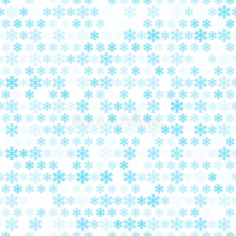 Αφηρημένη ταπετσαρία σχεδίων νιφάδων χιονιού. Διάνυσμα διανυσματική απεικόνιση